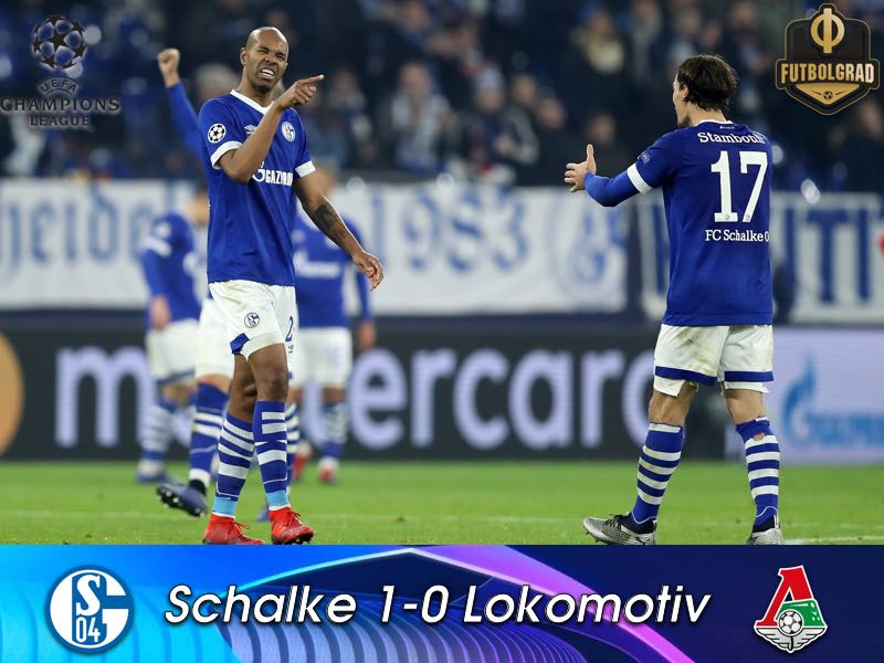 Schalke derail Lokomotiv's Europa League hopes