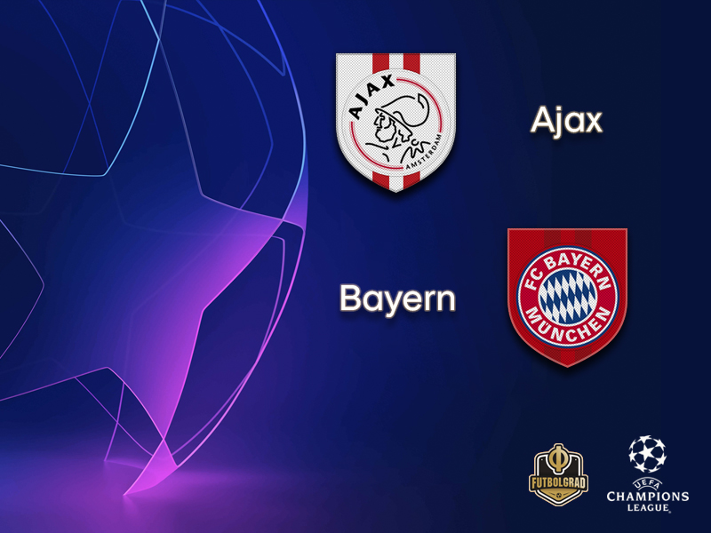 Ajax and Bayern battle for first spot in Group E
