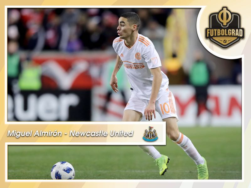 Miguel Almirón – The Entertainer Arrives in Newcastle