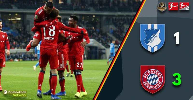 Hoffenheim fail to contain Bayern at home in Sinsheim