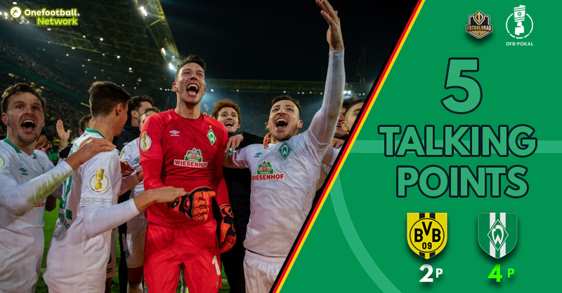 Pavlenka's heroics and the reemergence of Christian Pulisic – Five Talking Points from Dortmund vs Bremen