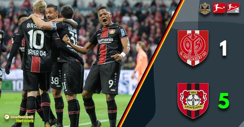 Karneval party turns into a circus, Mainz fall apart against Leverkusen