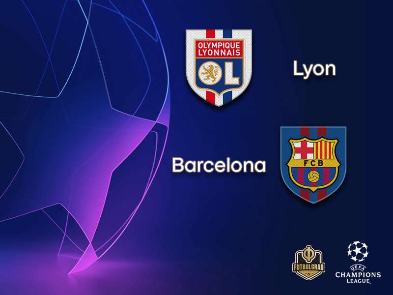 Olympique Lyon face tough Barcelona challenge