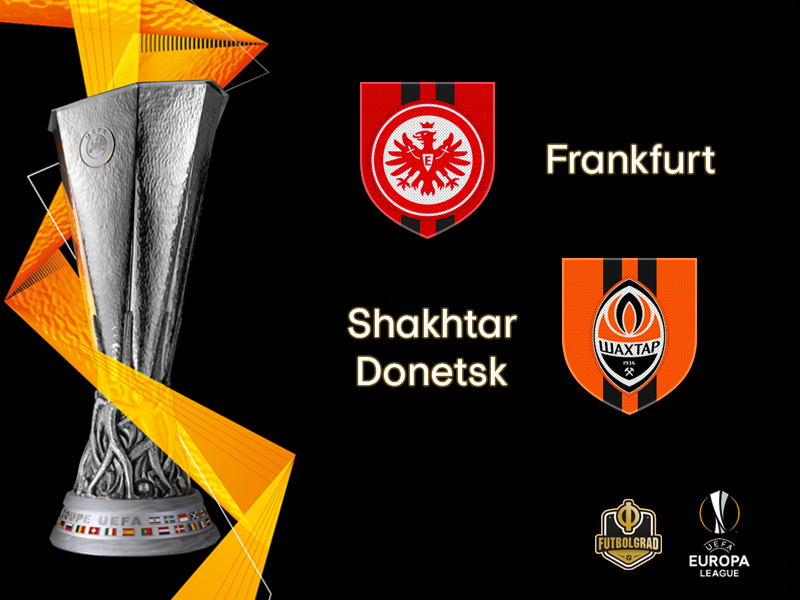 Eintracht Frankfurt hold the advantage as they host Shakhtar Donetsk