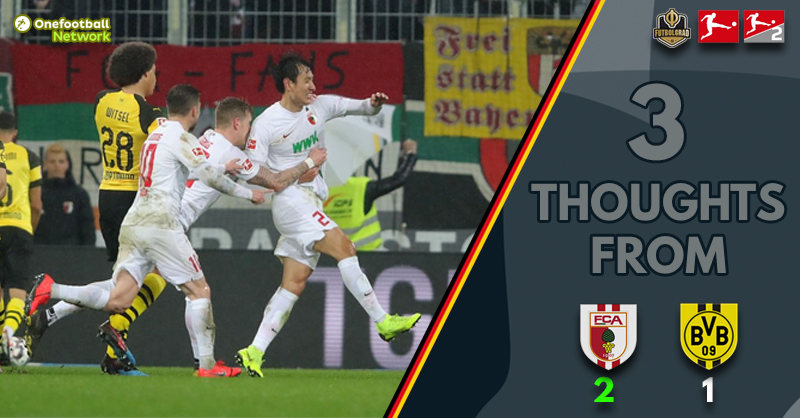 'New Month, Same Problem' and 'Augsburg Triumphant' Three Thoughts from Augsburg vs. Dortmund