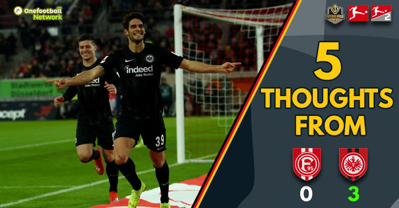 """Close but no cigar for Fortuna"" and ""Paciência proves his worth – Five Thoughts from Düsseldorf v Frankfurt"