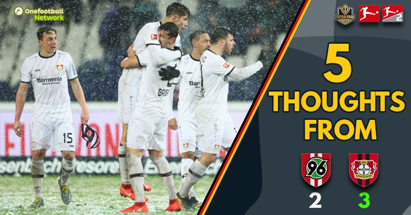 """""""Doll's changes almost paid off"""" and """"Action Packed Snowball"""" – Thoughts from Hannover v Leverkusen"""