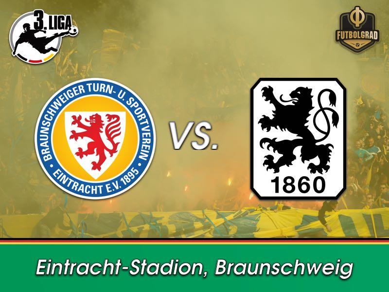 Former Bundesliga champions Braunschweig and 1860 Munich meet in Liga 3