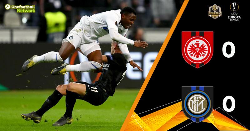 Eintracht Frankfurt held to a 0-0 draw by Inter Milan