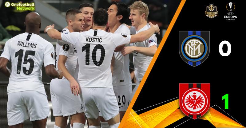 Inter Milan without a chance against wasteful Eintracht Frankfurt