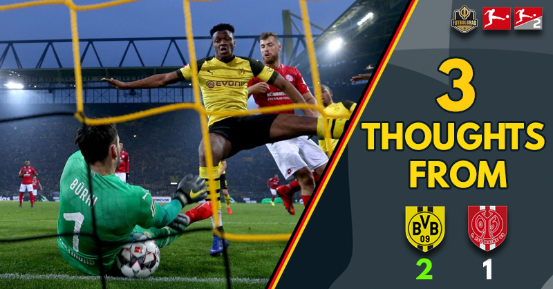 Götze, Sancho and hard work – Three thoughts from Dortmund v Mainz