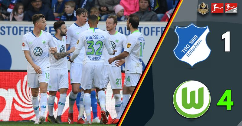 Hoffenheim stumble over Wolfsburg in their pursuit for Europe