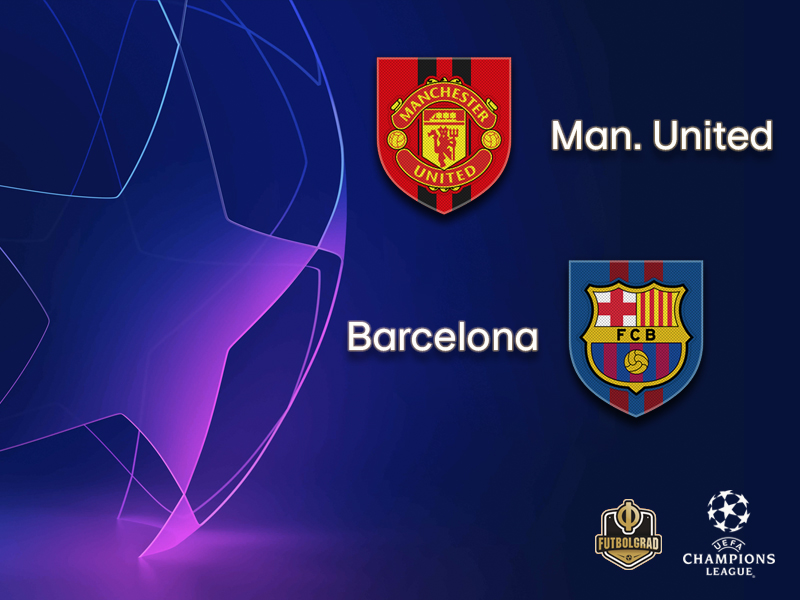 A clash of giants! Manchester United host Barcelona