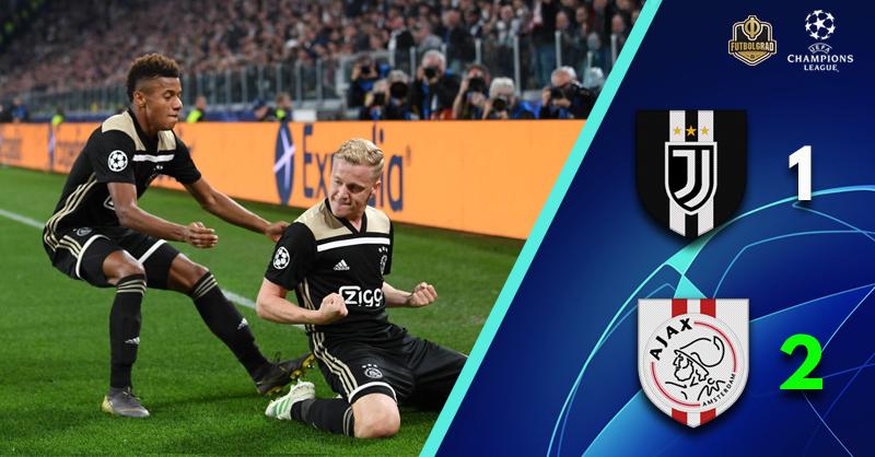 Cristiano Ronaldo not enough, Juventus eliminated by Ajax