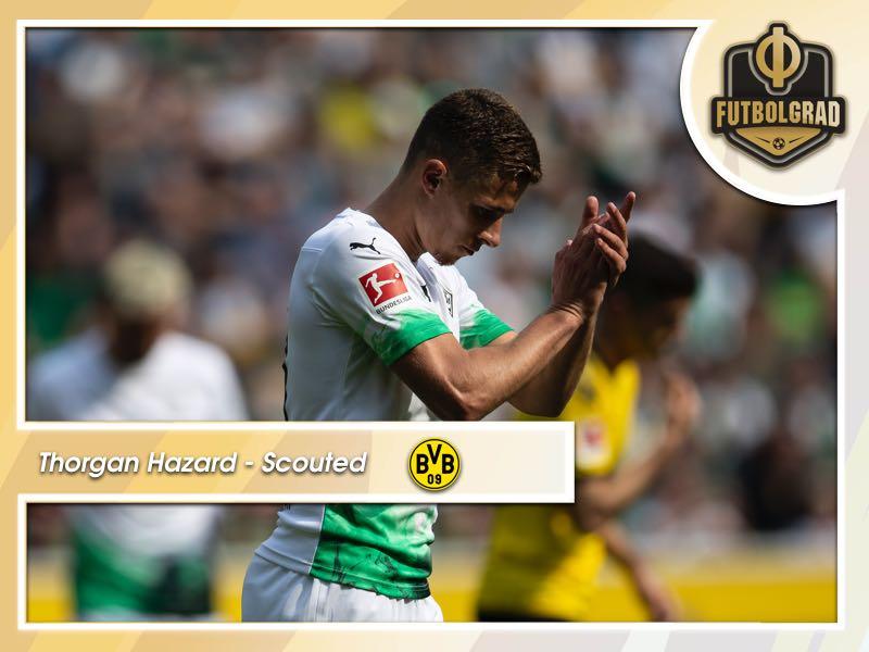 Thorgan Hazard – Borussia Dortmund's Bargain Buy Scouted