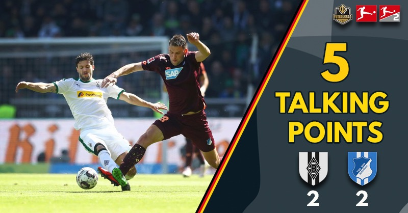 "Gladbach ""fortunate"", Hoffenheim ""wasteful"" – Five Thoughts from Gladbach vs Hoffenheim"