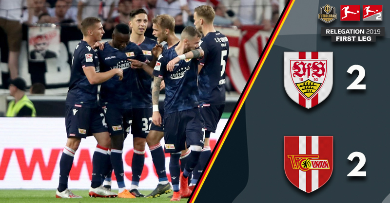 Advantage Union Berlin as they earn a 2-2 draw in Stuttgart