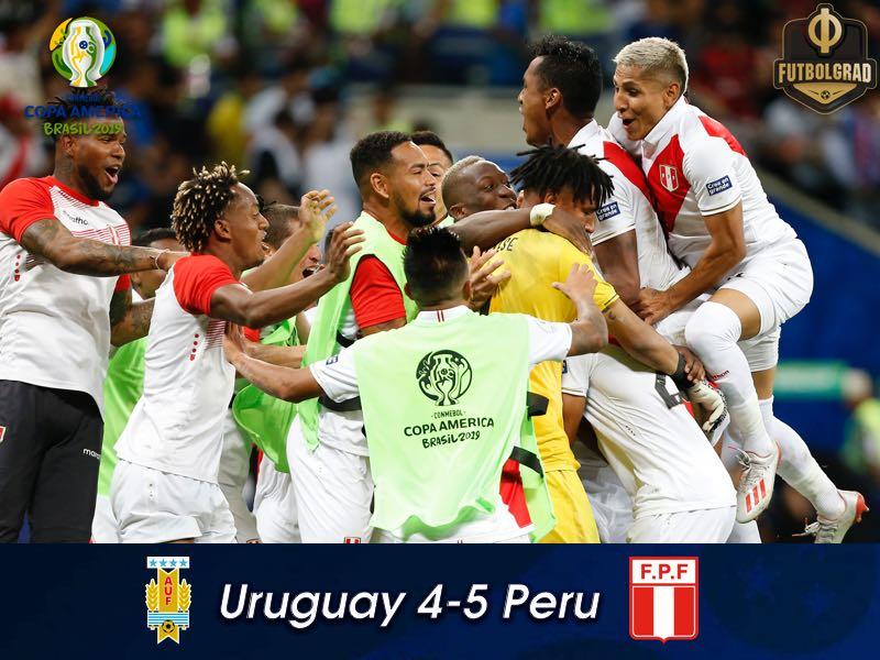 Uruguay vs Peru – Copa America – Match Report