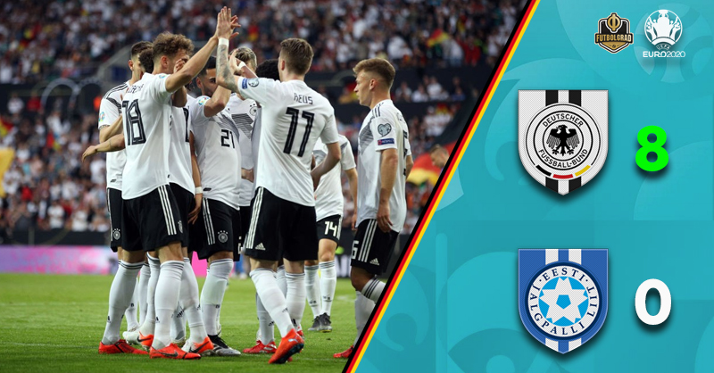 Germany Waltz Past Estonia – Three Thoughts From Mainz