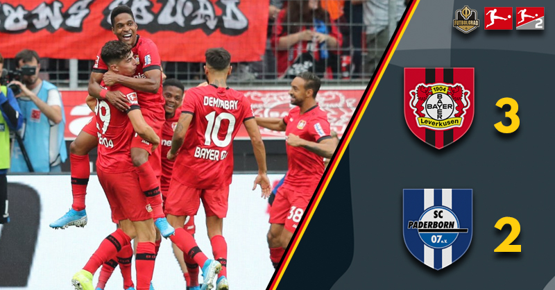 Bayer Leverkusen overpower newly promoted Paderborn