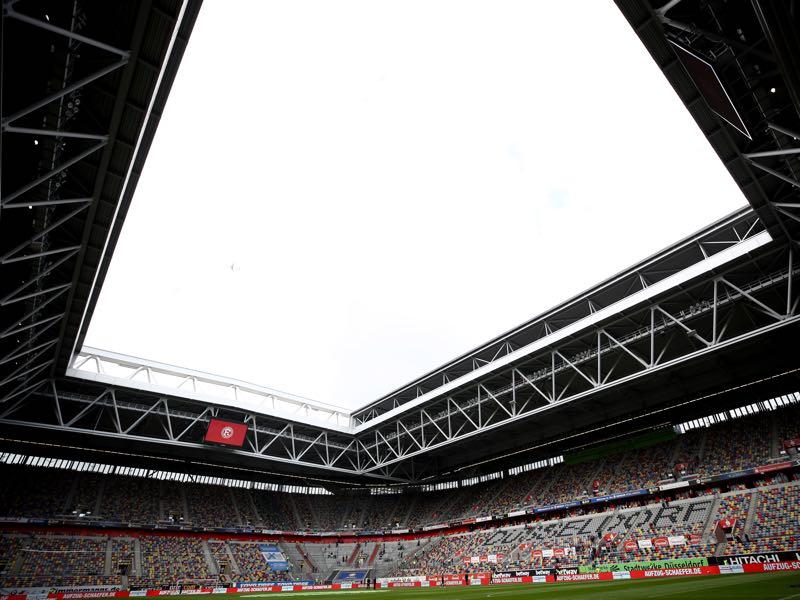 Fortuna Düsseldorf vs Bayern Munich will take place at the MERKUR SPIEL Arena in Düsseldorf (Photo by Maja Hitij/Bongarts/Getty Images)
