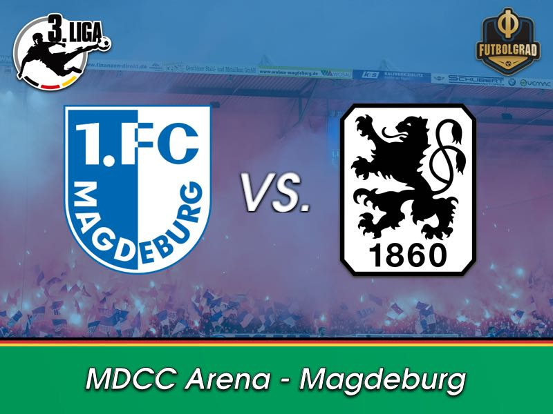 For the first time ever, 1.FC Magdeburg faces 1860 Munich