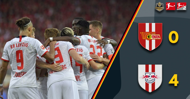 Leipzig give Union a lesson in finishing