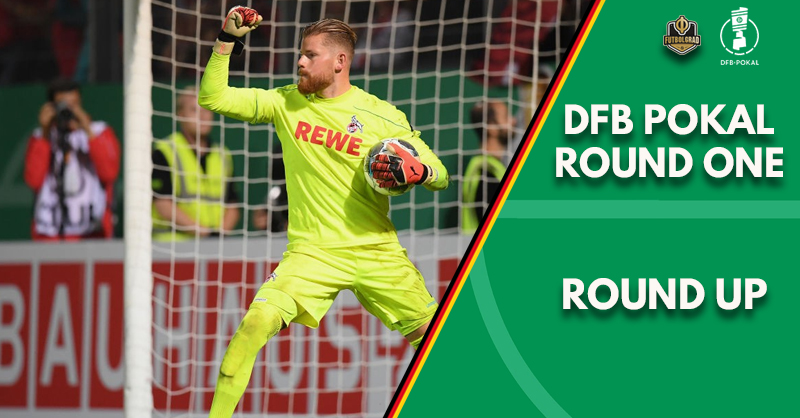 Pokal round-up as Bundesliga fortunes differ across four days of action