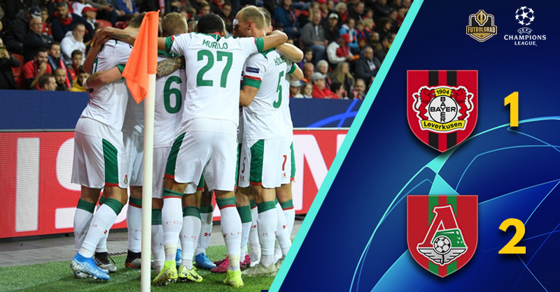 Bayer Leverkusen – Champions League starts with nightmare defeat to Lokomotiv Moskva
