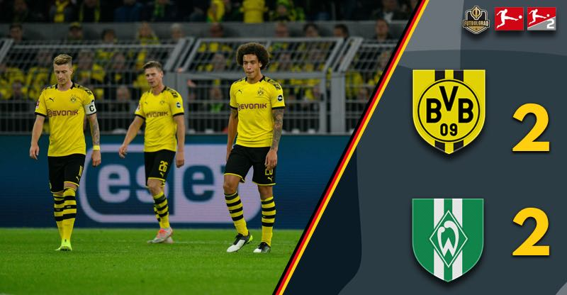 Borussia Dortmund drop two points against Werder Bremen