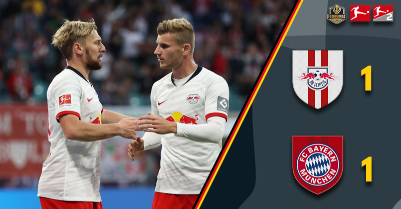 RB Leipzig hold Bayern Munich in the Topspiel