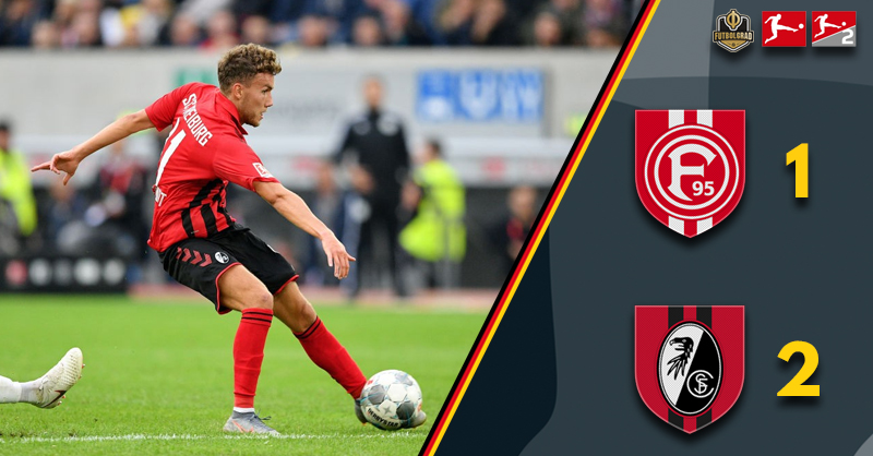 Freiburg continue to climb, collect three points against Fortuna Düsseldorf