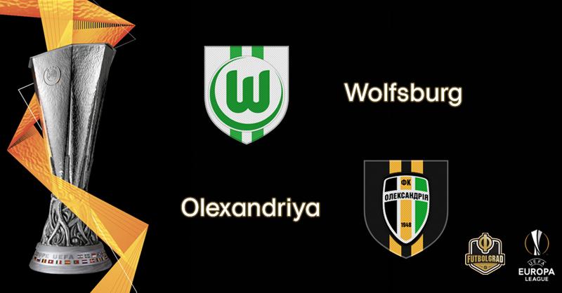 For the first time ever, Wolfsburg host Ukrainian side Olexandriya