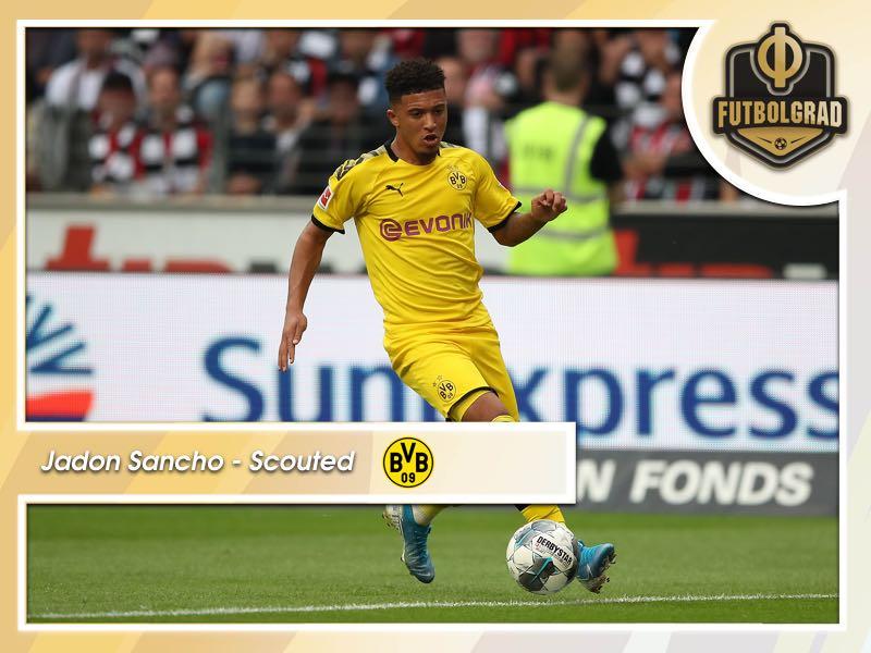 Jadon Sancho is now Borussia Dortmund's most important player