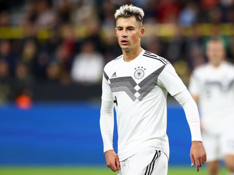 Robin Koch of Germany looks on during the International Friendly match between Germany and Argentina at Signal Iduna Park on October 09, 2019 in Dortmund, Germany. (Photo by Martin Rose/Bongarts/Getty Images)