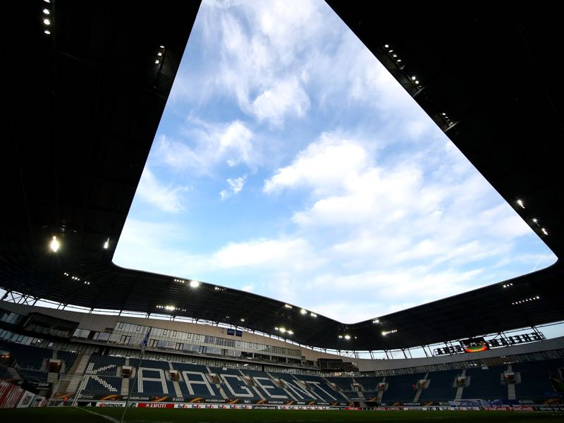 KAA Gent vs Wolfsburg will take place at the KAA Gent Stadium (Photo by Dean Mouhtaropoulos/Getty Images)
