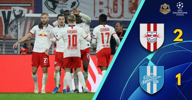 Sabitzer's wonder goal secures Leipzig three points against Zenit