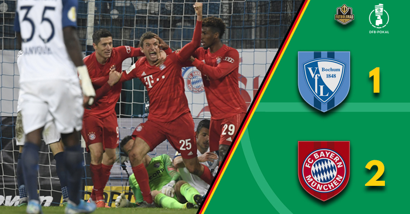 Müller and Gnabry rescue Bayern Munich against Bundesliga 2 side Bochum