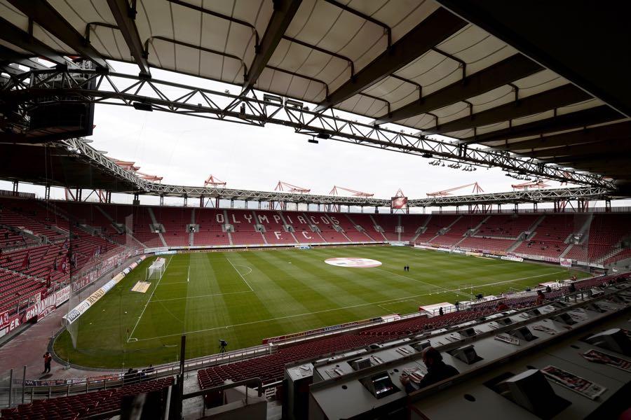 Olympiacos vs Bayern Munich will take place at the Georgios Karaiskakis Stadium (Photo by Aris Messinis/EuroFootball/Getty Image)