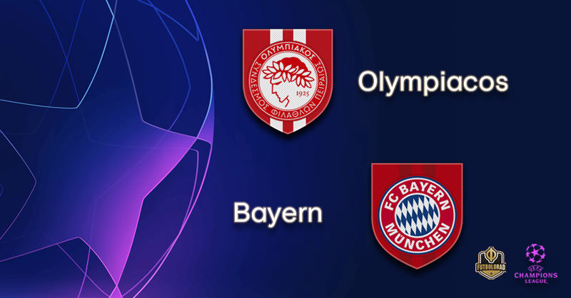 Olympiacos host German giants Bayern Munich
