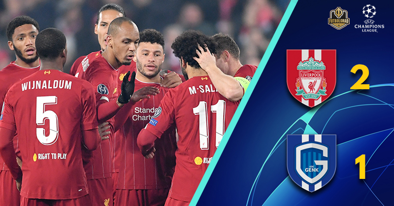 Liverpool more misfire than fireworks against Genk