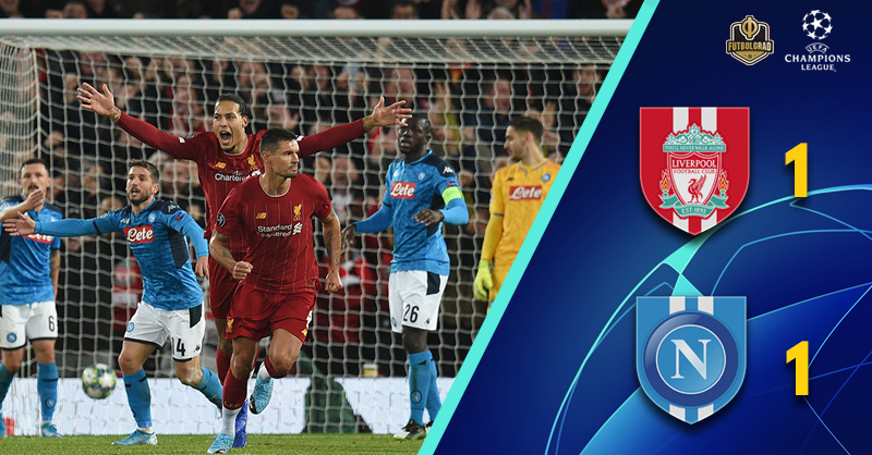 All square at Anfield as Napoli frustrate Liverpool