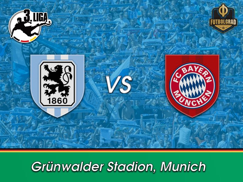 Munich city derby: 1860 Munich host rivals Bayern Munich II
