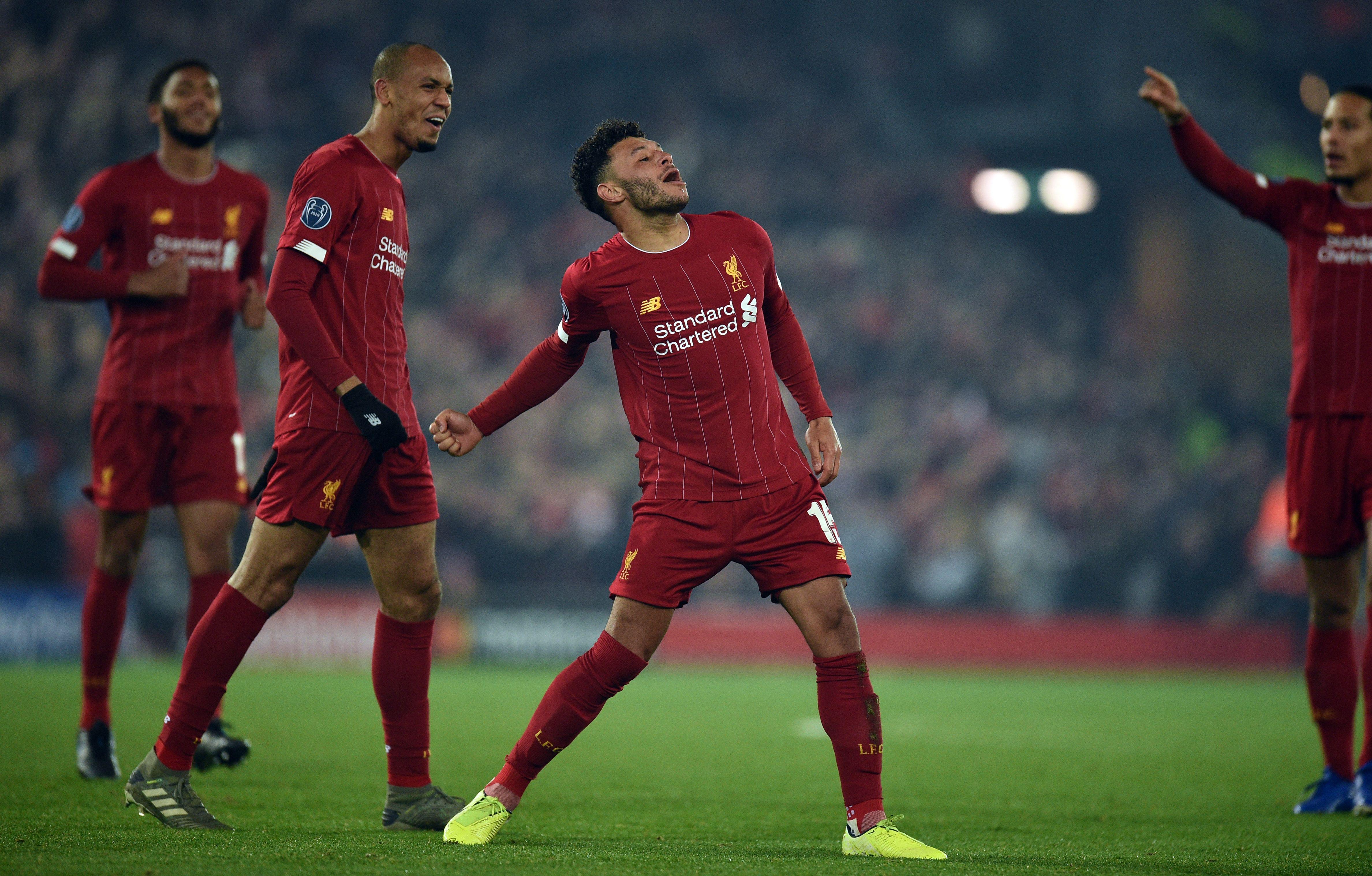 Alex Oxlade-Chamberlain - Liverpool vs Genk