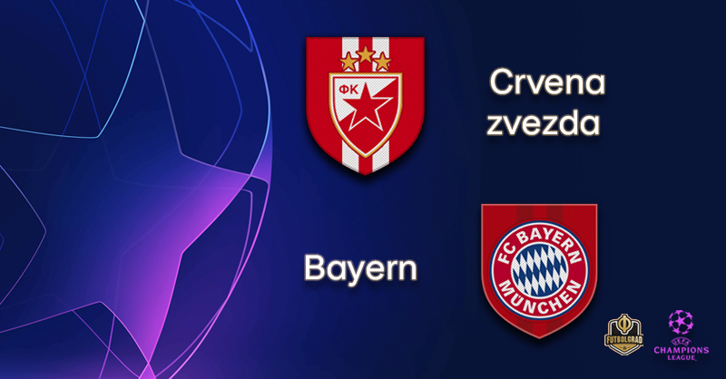 Crvena zvezda and Bayern Munich renew rivalry in Belgrade
