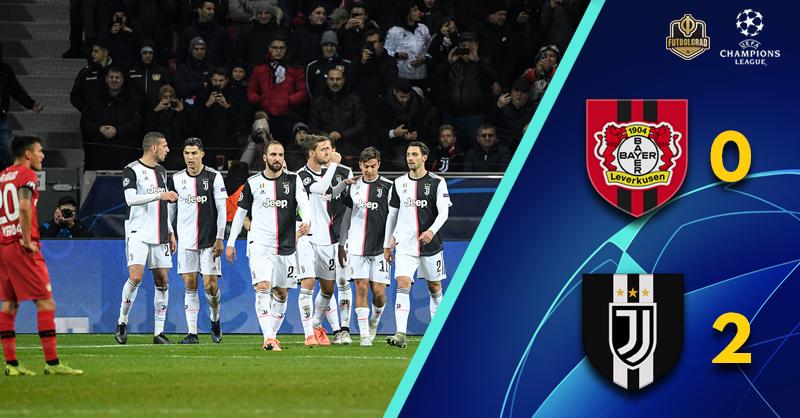 Leverkusen fall at the final hurdle to Cristiano Ronaldo and Juventus