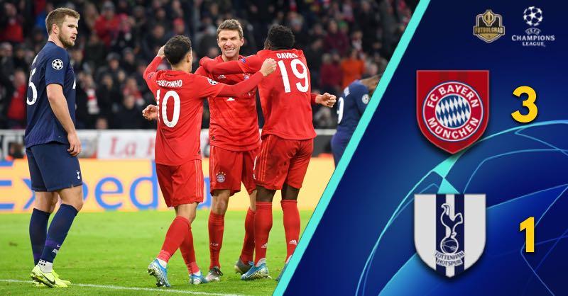 Alphonso Davies shines in Bayern Munich's victory over Tottenham