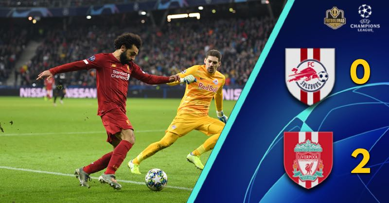 Sadio Mané masterclass against Salzburg secures Liverpool passage to the round of 16