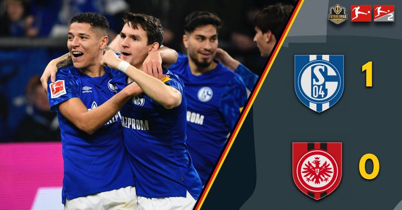 Weston McKennie injury overshadows Schalke win over Eintracht Frankfurt