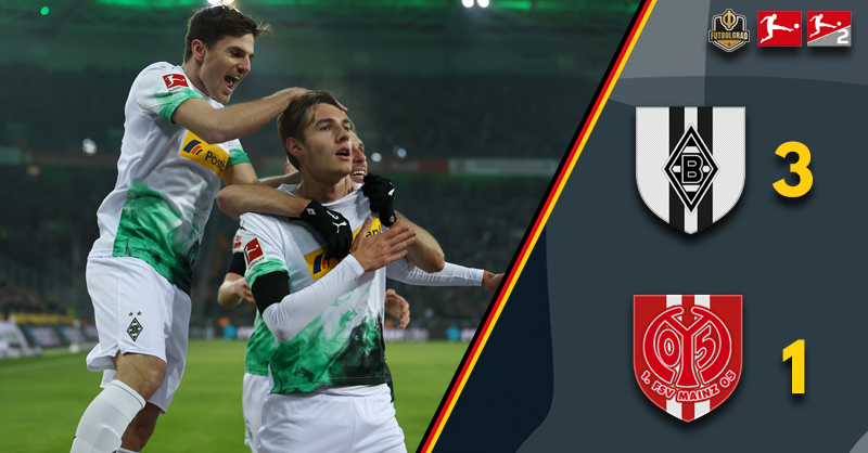 Gladbach come from behind to beat Mainz as ‎the Fohlen return to winning ways